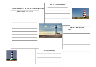 lighthouse fact file template