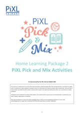 thumbnail of May Half term Home Learning 2 Pick and Mix