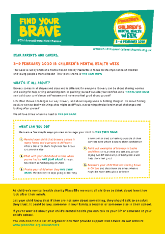 Top Tips for Parents & Carers 2020