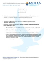 thumbnail of Covid-19 behaviour policy appendix