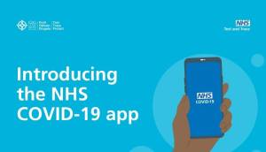 Poster for the NHS Covid-19 app