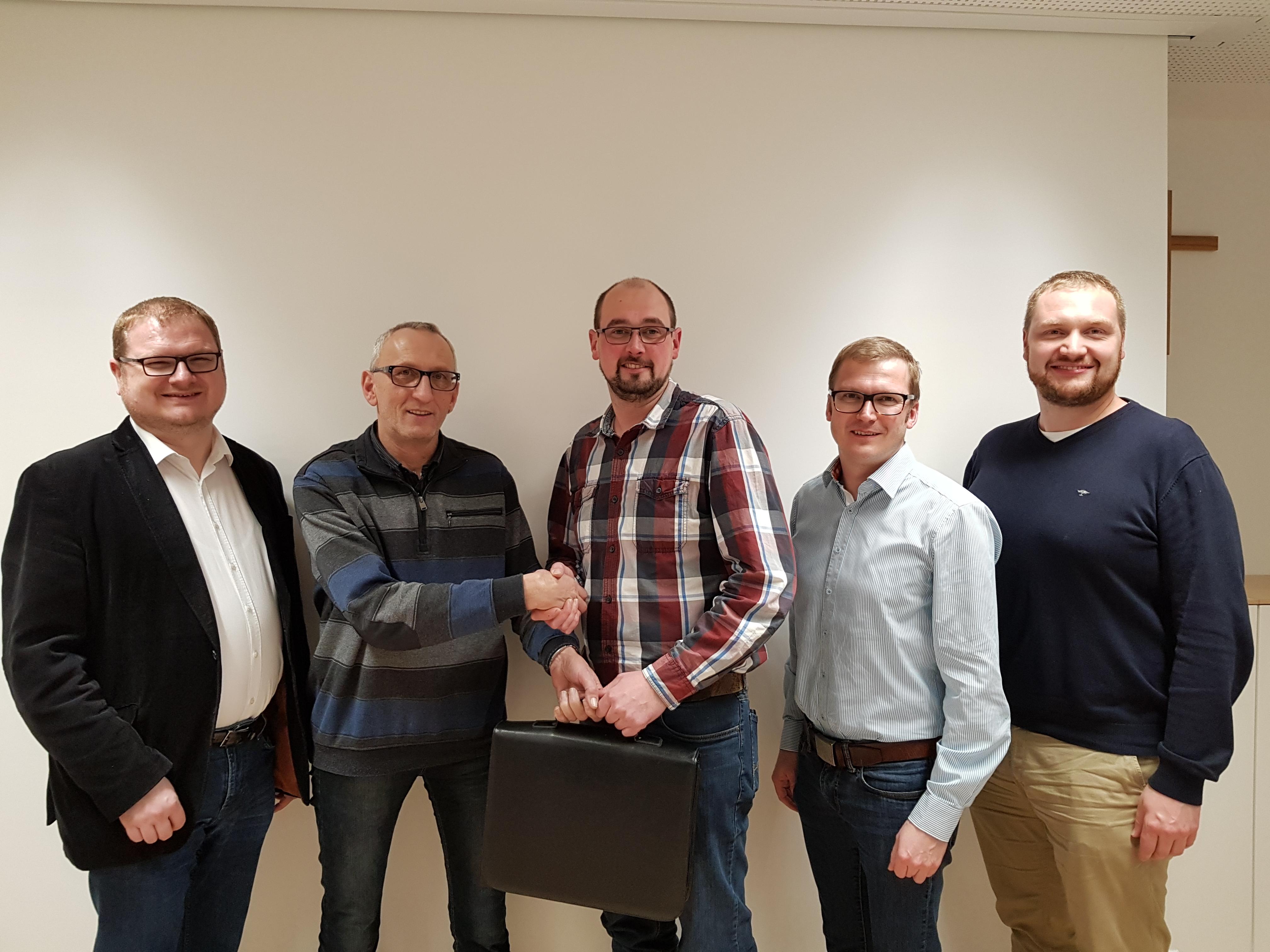 Wechsel des ÖVP Fraktionsobmannes im Gemeinderat
