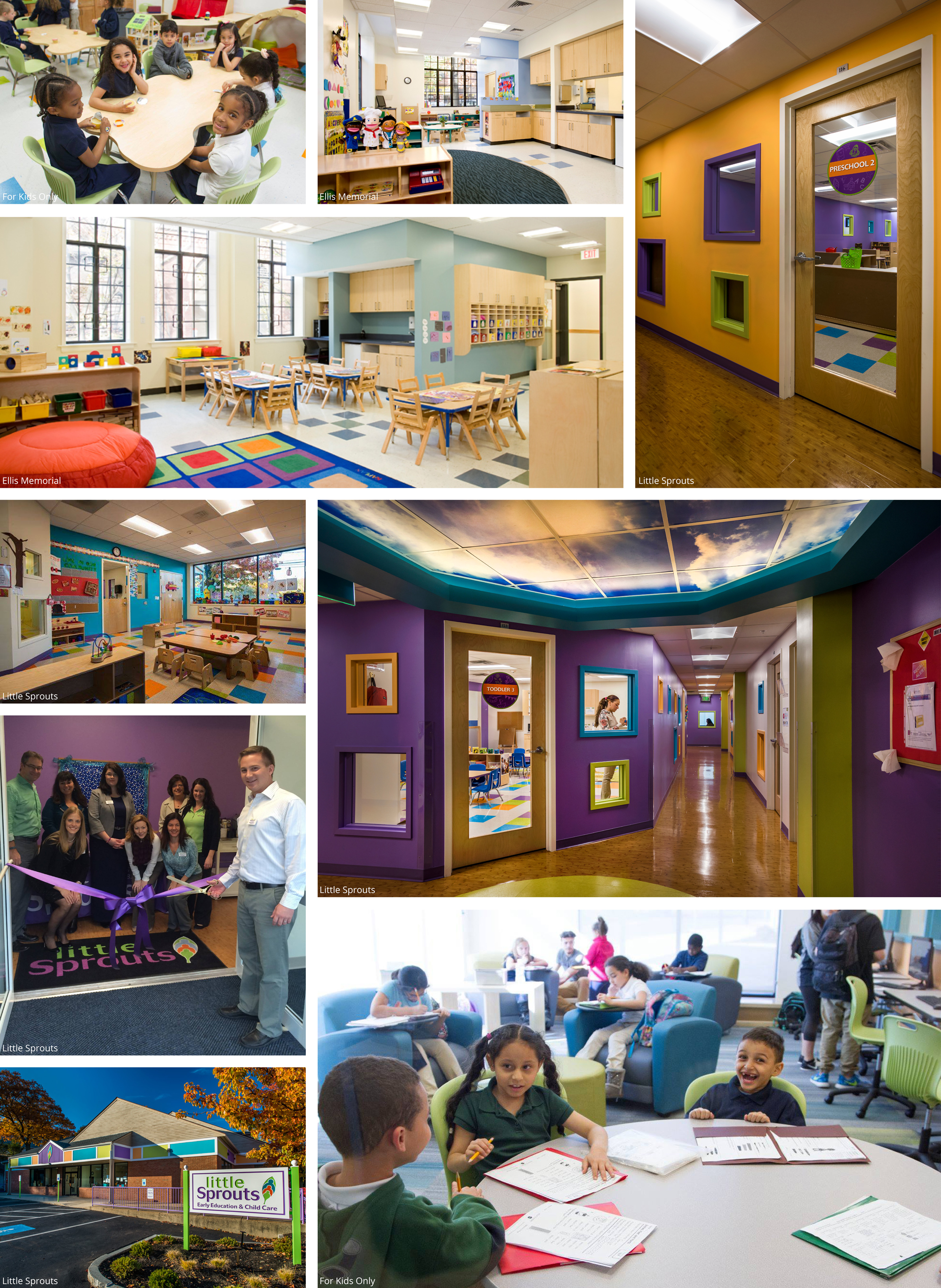 ... AND ON ENABLING THEIR CAREGIVERS AND TEACHERS TO PROVIDE THEM THE BEST  CARE AND EDUCATION CLIENTS: LITTLE SPROUTS, ELLIS MEMORIAL, FOR KIDS ONLY