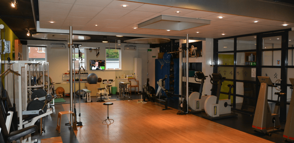 oefenzaal Staal Fysiotherapie