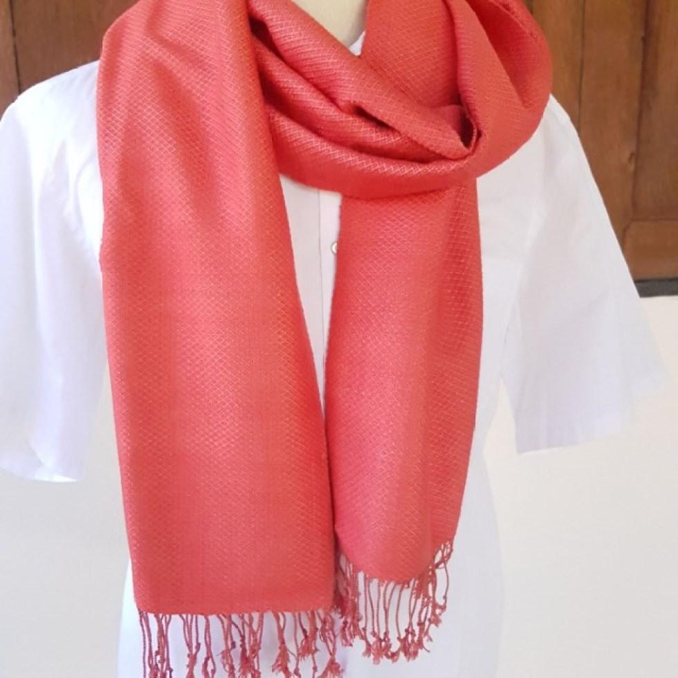 zuiver rode sjaal