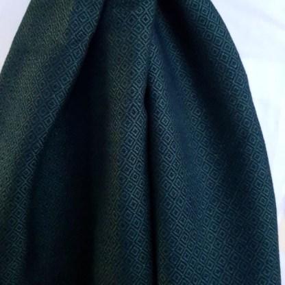 donkergroene sjaal