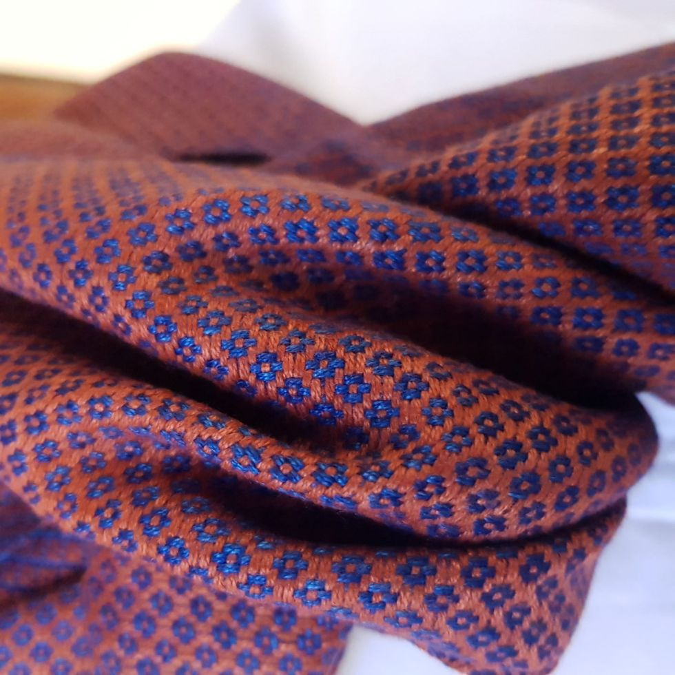 koperrode sjaal