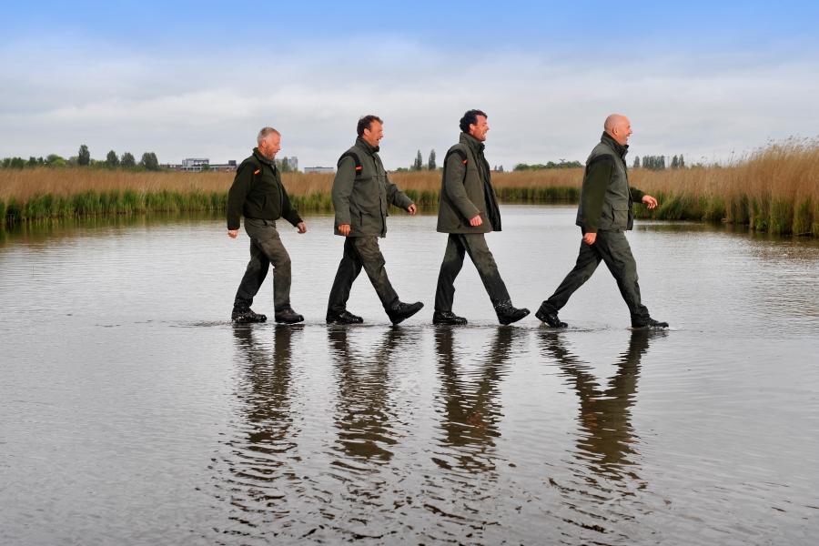 wandelen over water
