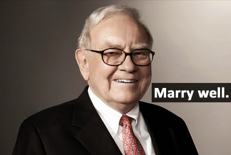 Warren Buffett Marriage Advise