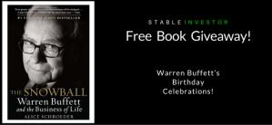 Free Book Giveaway – Warren Buffett's Birthday Celebrations!