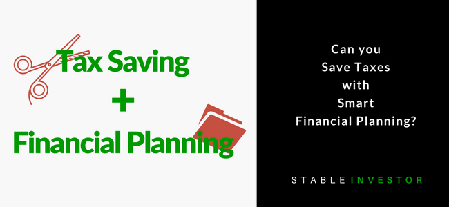 Tax Saving Financial Planning