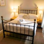 Self-catering cottage in Northumberland, Goldfinch cottage double bedroom