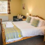Self-catering cottage in Northumberland, Greenfinch cottage master bedroom