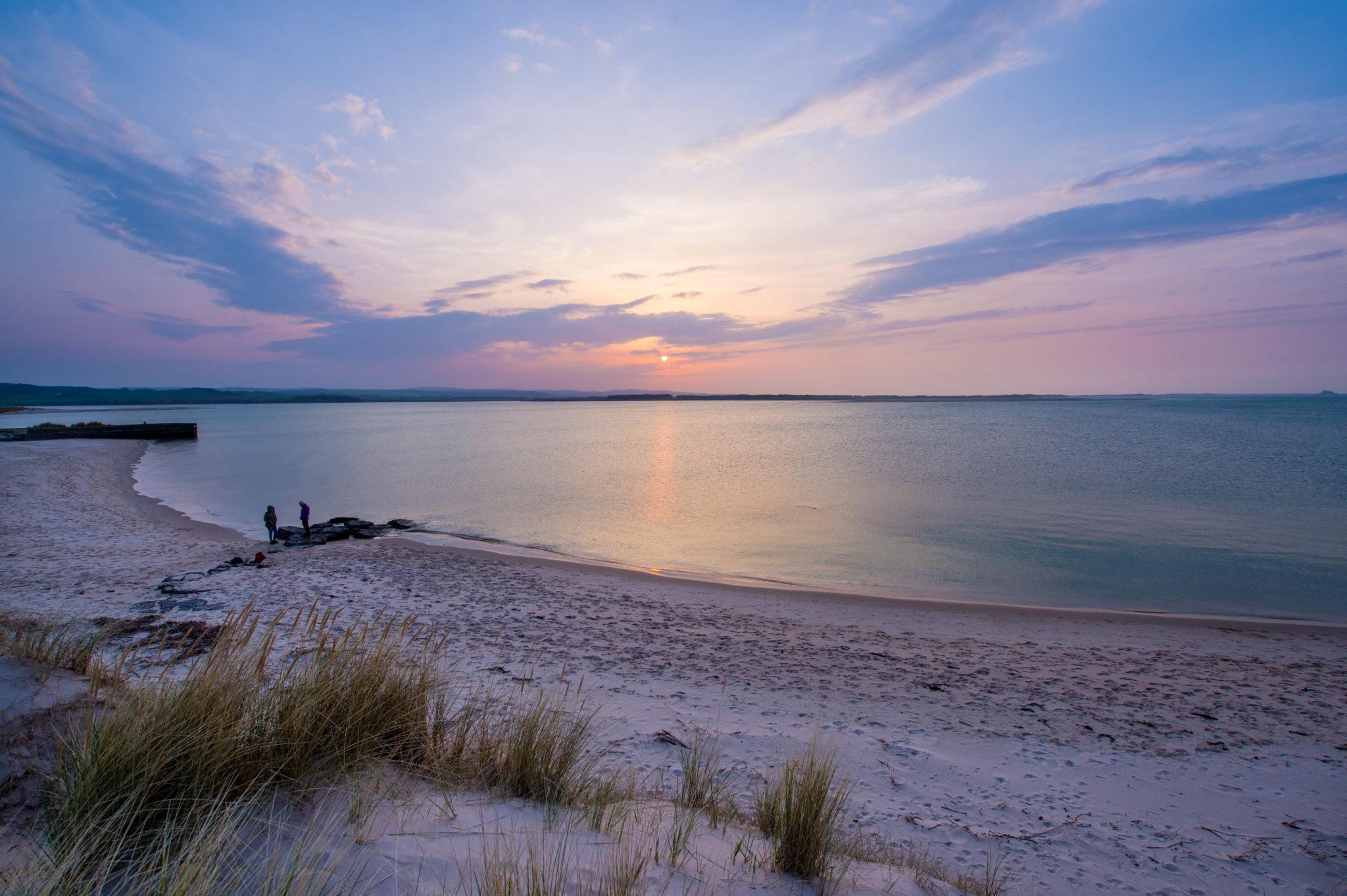 Budle Bay coastal holidays, Northumberland