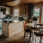 Stablewood Coastal Cottages Grey Heron Kitchen/Dining Northumberland Cottages