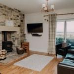 Stablewood Coastal Cottages Goosander Living Room Northumberland Cottages