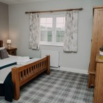 Stablewood Coastal Cottages Jackdaw Double Bedroom Northumberland Cottages