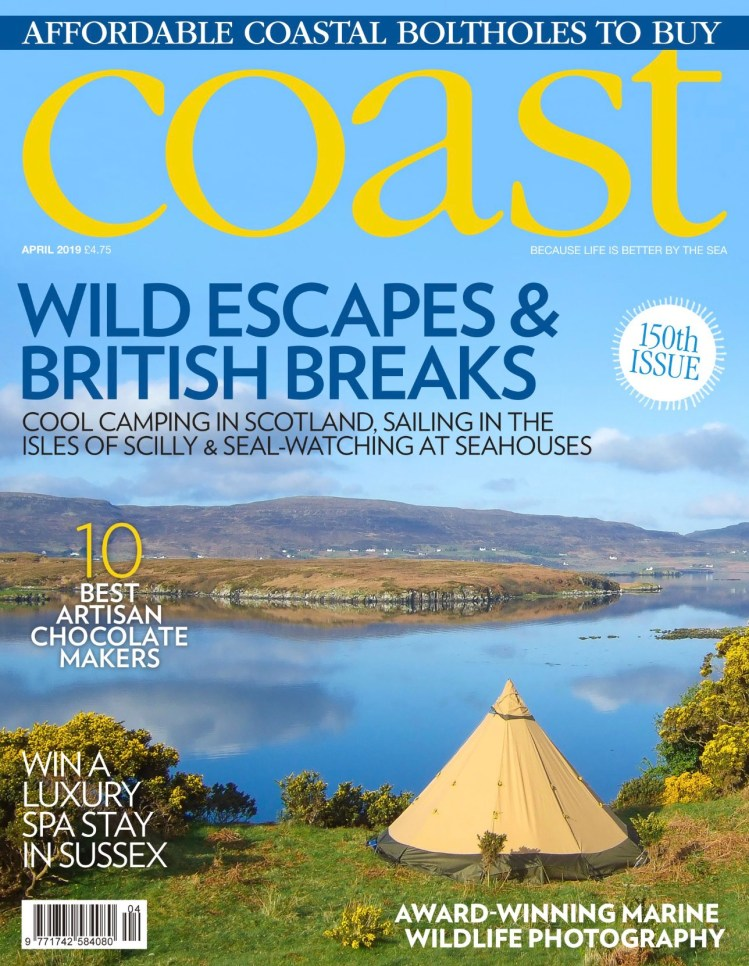 Coast Magazine Front Cover