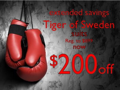 2014 BOxing Week Tiger of Sweden Staccato Vancouver
