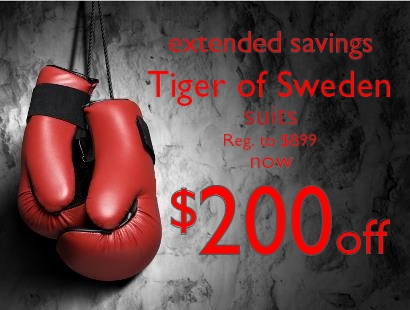 2014 Boxing Week - Tiger of Sweden Staccato Vancouver