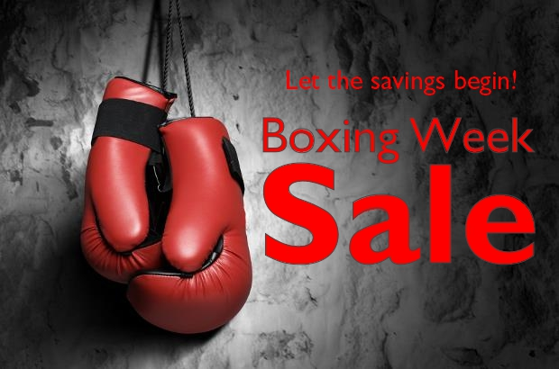 2014 Boxing Week sale Staccato Vancouver