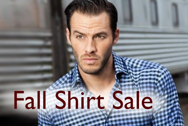 Staccato Menswear Vancouver Fall Shirt Sale