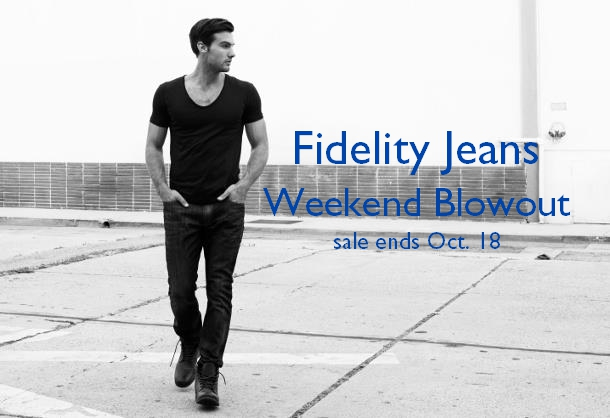 Staccato Vancouver Menswear Fidelity Jeans Sale