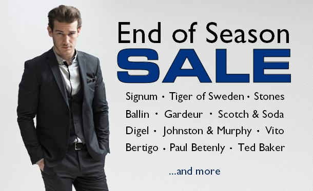 2015 End of Season Sale Staccato Menswear Fashion Suits