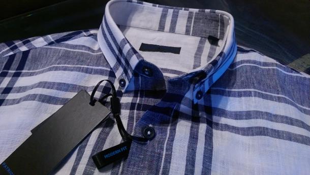 Patrick Assaraf - PYA Linen Short sleeve shirt