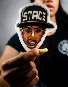 Official STACE Face Sticker