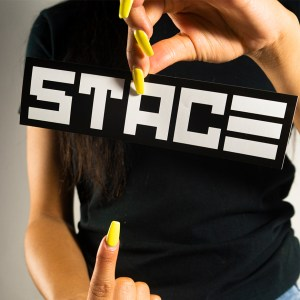 STACE Brand Logo Sticker