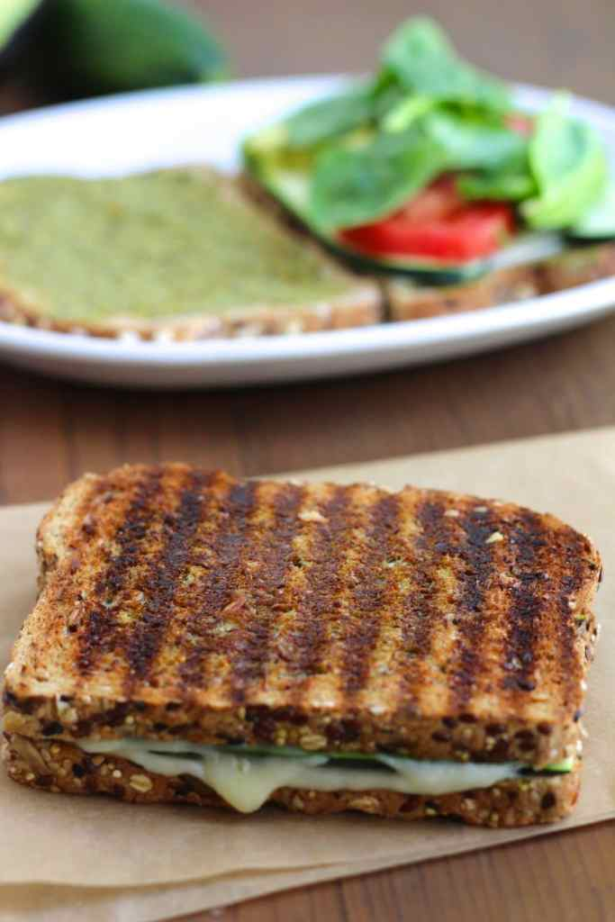 avocado zucchini grilled cheese 2