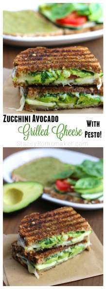zucchini avocado grilled cheese