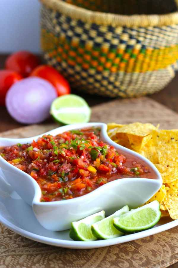 cilantro lime salsa 1