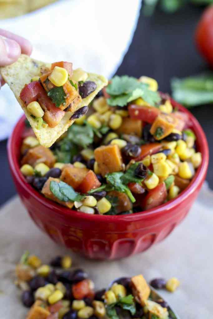 Roasted Sweet Potato Salsa