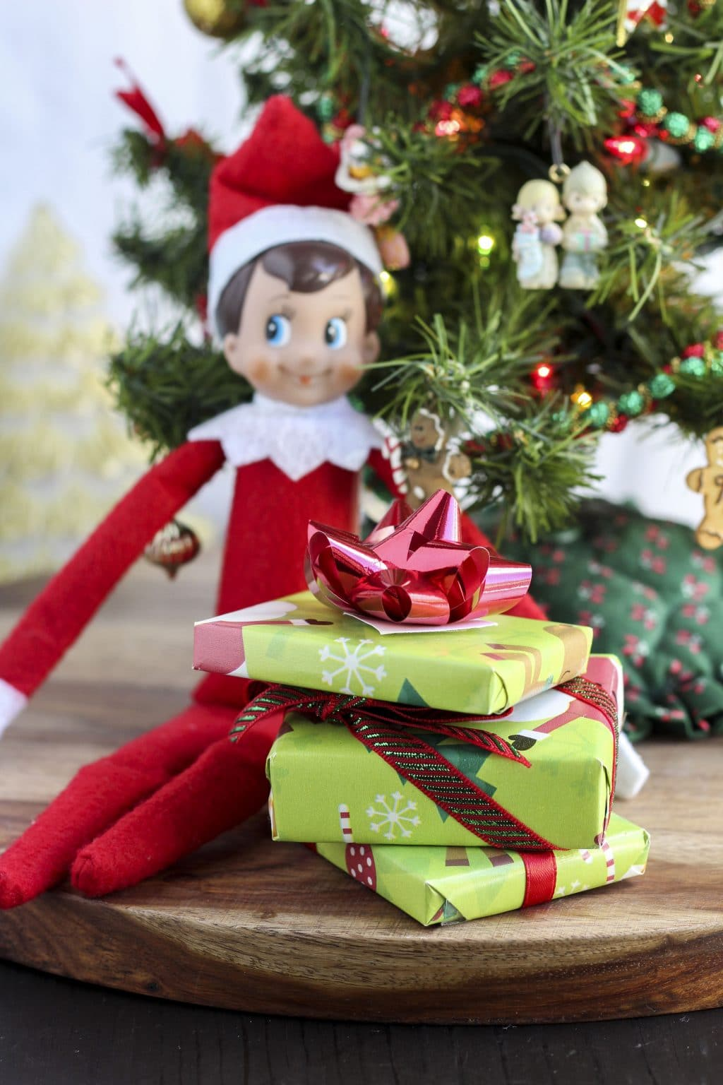 Elf on the Shelf Christmas Gift Idea