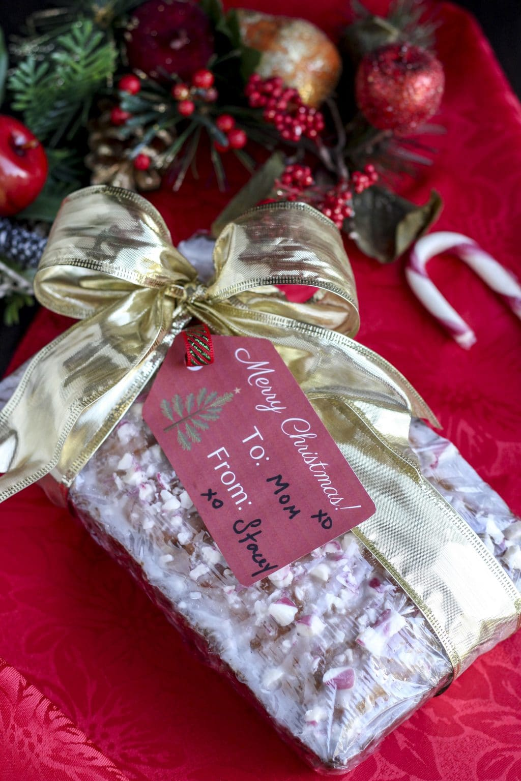 White Chocolate Peppermint Bread