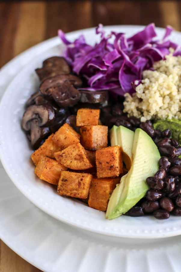 21 day fix-approved skinny quinoa bowl