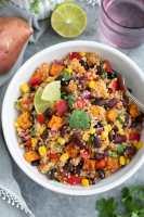 Southwest Quinoa Salad with Avocado