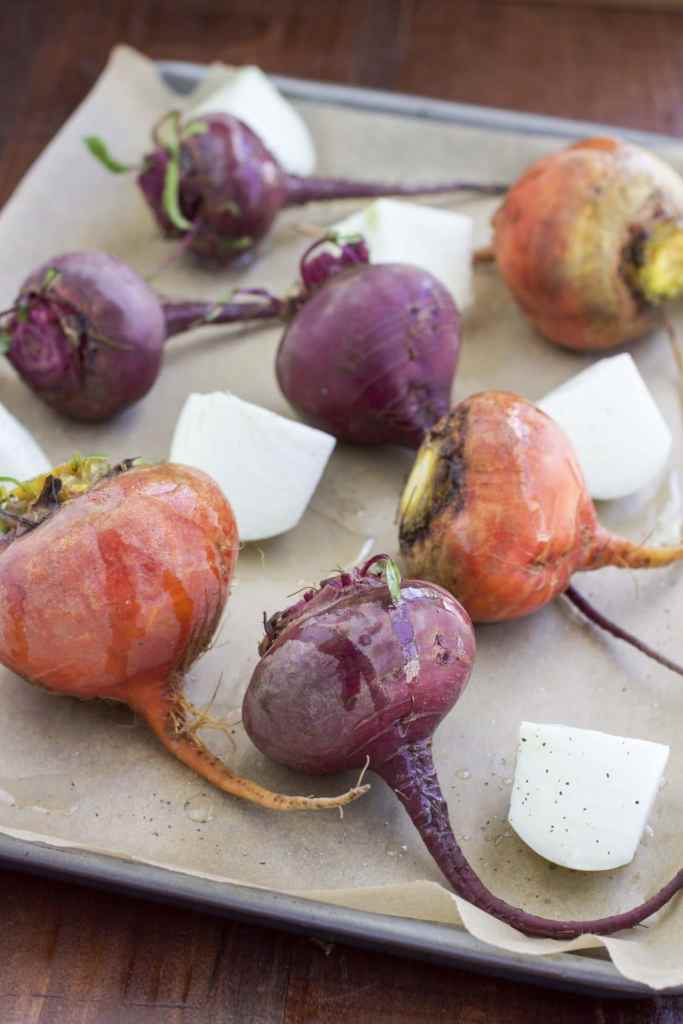 Red & golden beets
