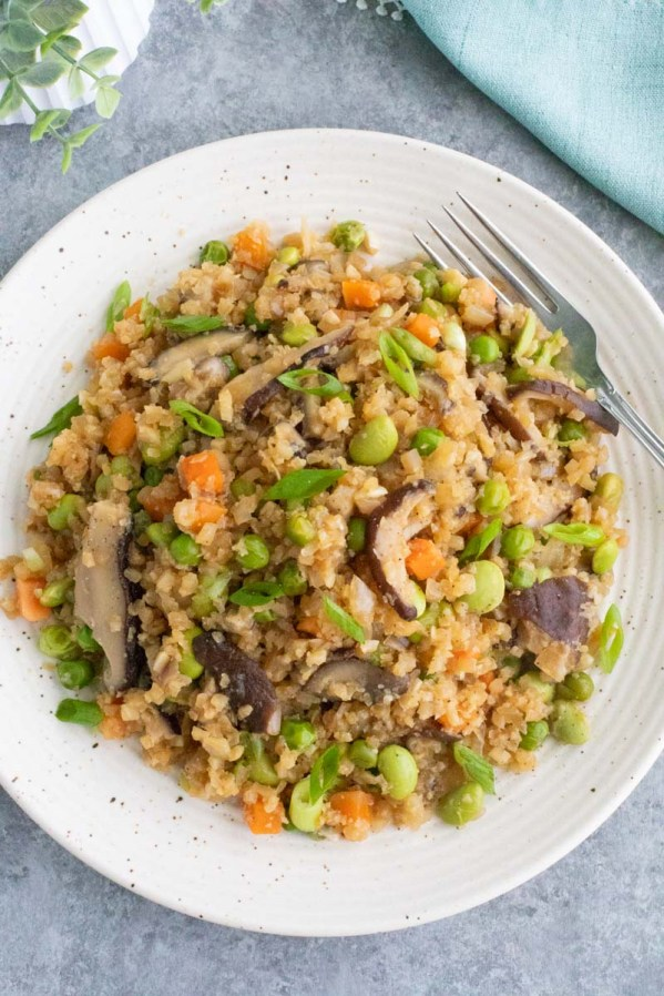 ginger cauliflower fried rice