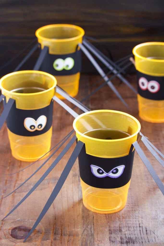 diy-halloween-spider-cups
