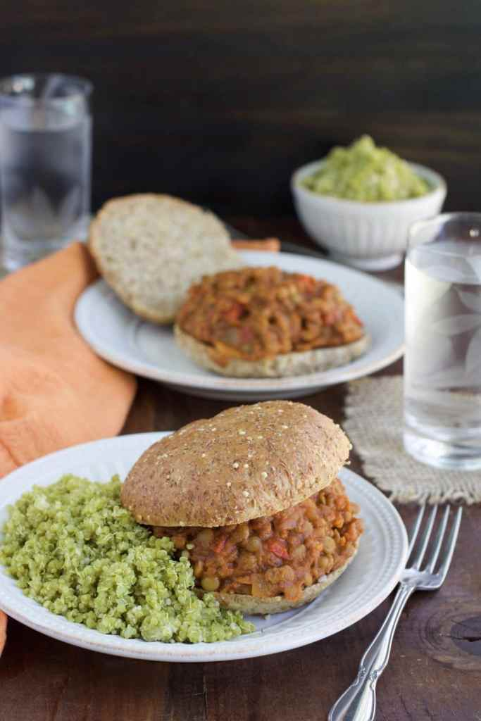 We love this zesty cilantro lime quinoa side dish with vegan sloppy joe's, tacos, burritos, sandwiches, and wraps!