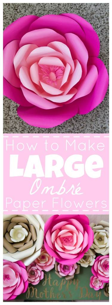 How to make large paper flowers are you going to get your mom a special hallmark signature card for mothers day do you have any special traditions let me know in the comments mightylinksfo Images