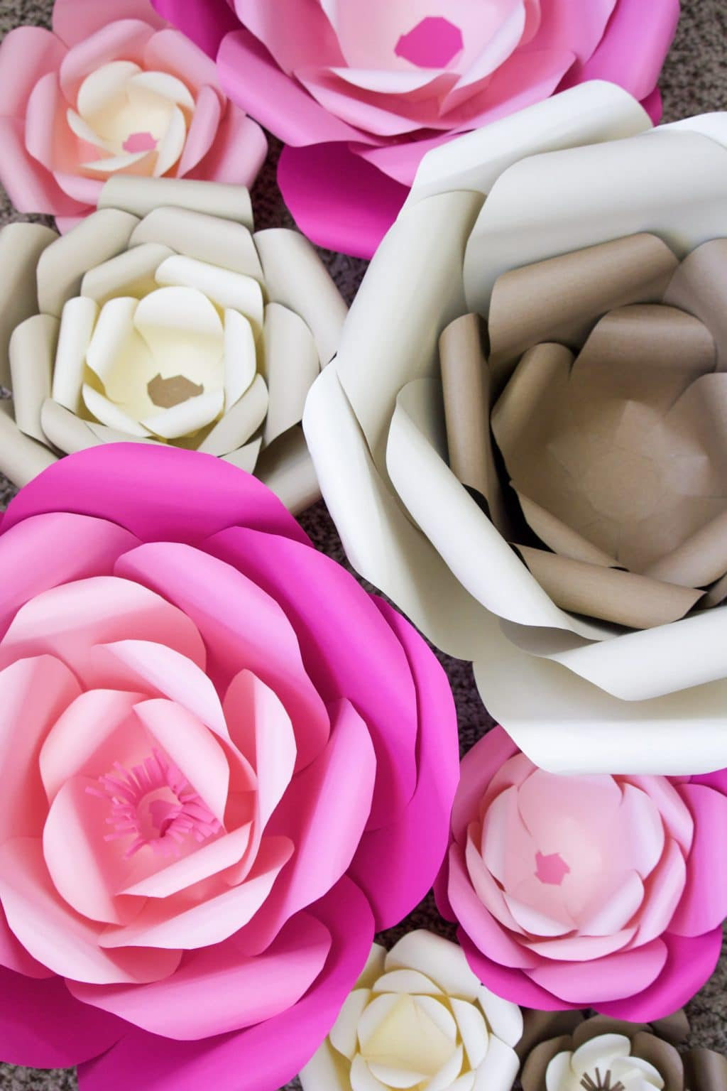 Flowers Near Me How To Make Giant Paper Flowers For Wall Flowers