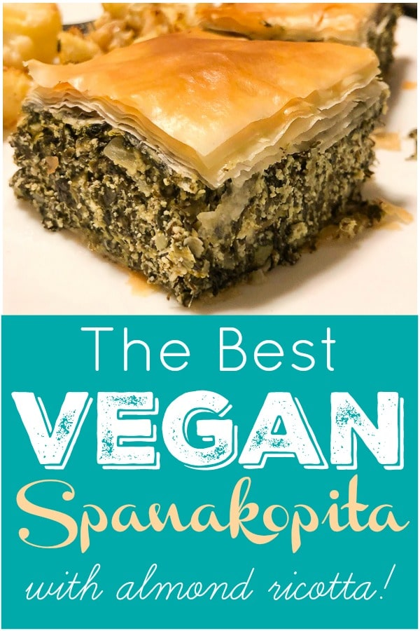 The BEST Vegan Spanakopita