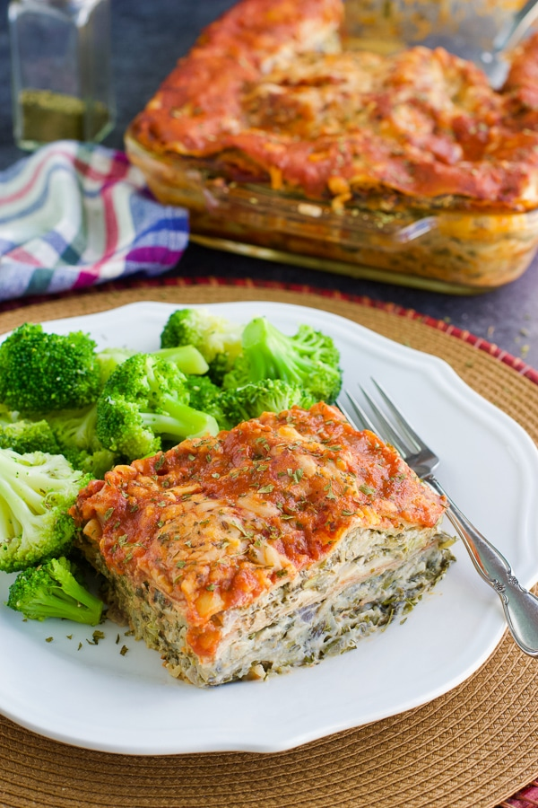 Vegan Lasagna No Tofu