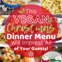 This 素食主义者 Christmas Dinner Menu Will Impress All of 您r Guests!