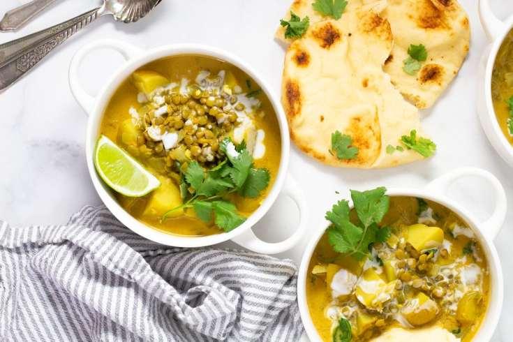 Vegan Curry Lentil Soup