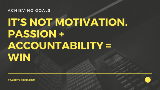 passion and accountability keys to achieving goals, motivation, success, achievement inspiration